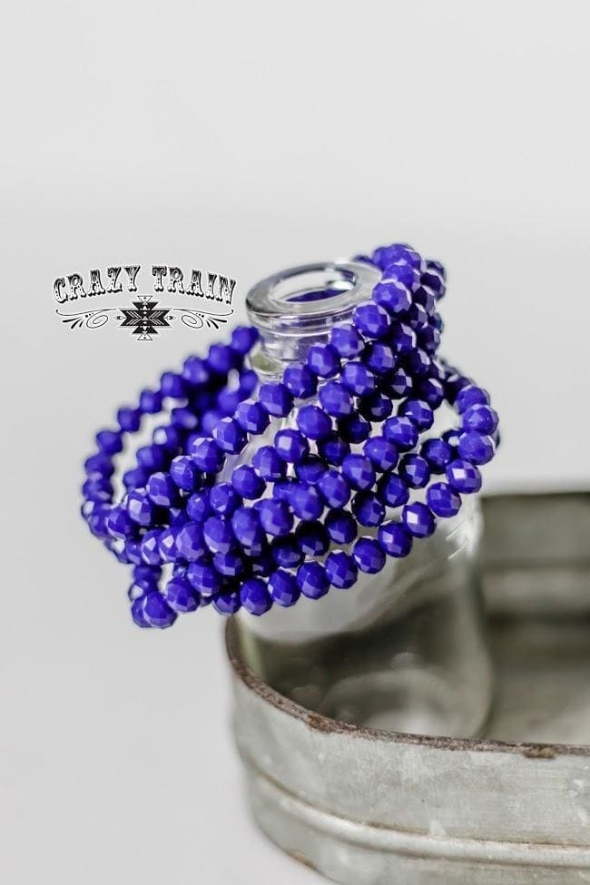 Crazy Train - Cobalt Blue Bracelet - Crazy Train