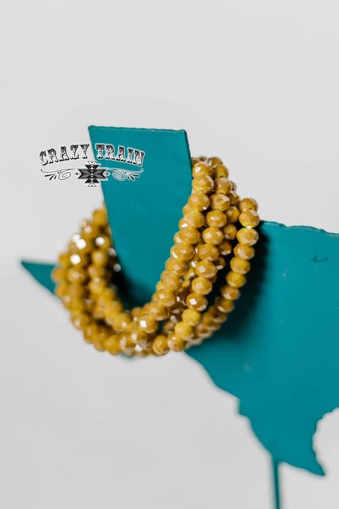Crazy Train - Honey Mustard Bracelet - Crazy Train