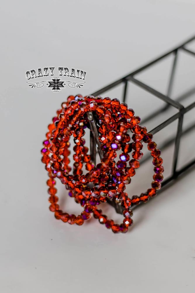 Crazy Train - Ranch Red Bracelet - Crazy Train