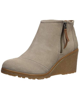 Toms Avery Wedge Bootie - Desert Taupe