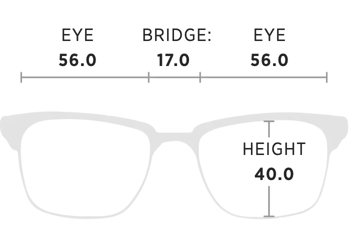 Maui Jim Boardwalk Measurement Dimensions