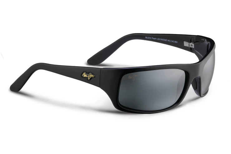 Maui Jim - Peahi - Gloss Black / Neutral Grey