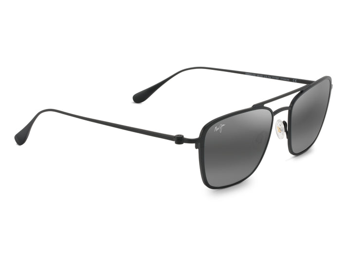 Maui Jim - Ebb & Flow - Matte Black / Neutral Grey