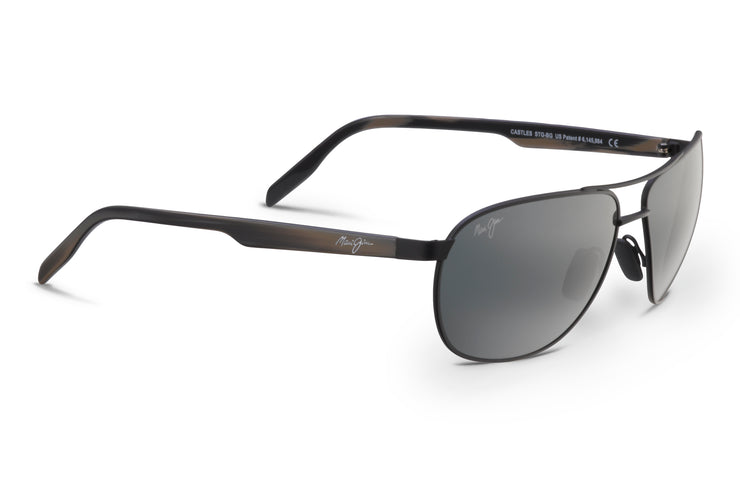 Maui Jim - Castles - Matte Black / Neutral Grey