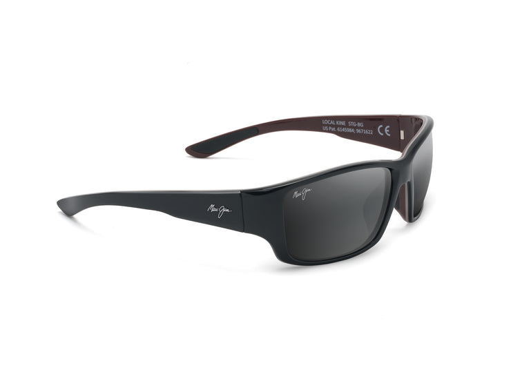 Maui Jim - Local Kine - Shiny Black / Neutral Grey