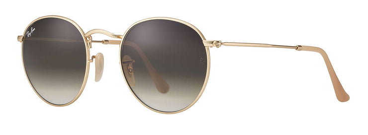 Ray-Ban - Round Metal RB3447 Rx - Gold / 50 Standard