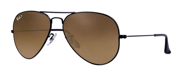 Ray-Ban - Aviator Rx - Black / 55