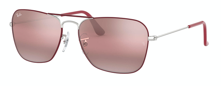 Ray-Ban - Caravan Rx - Silver / Purple / 55