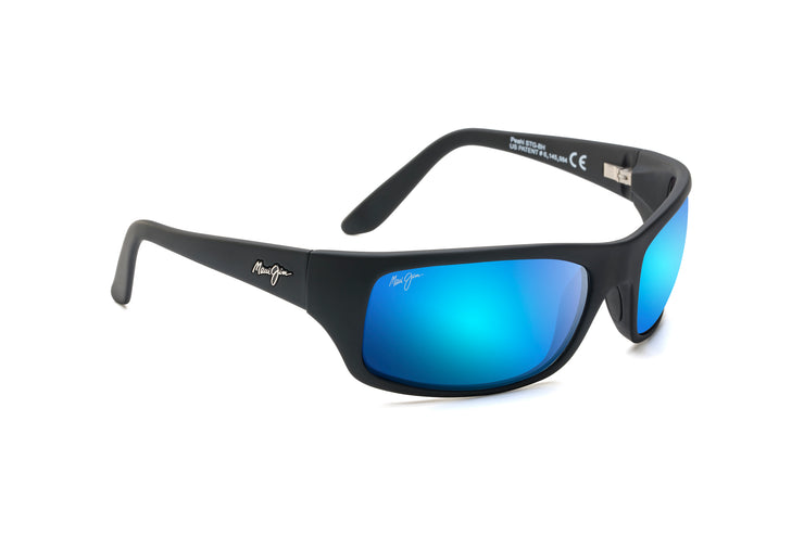 Maui Jim - Peahi - Matte Black / Blue Hawaii