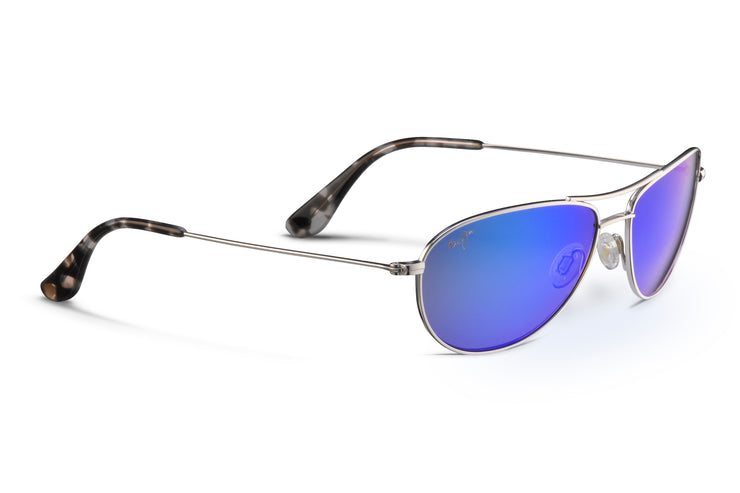 Maui Jim - Baby Beach - Silver / Blue Hawaii