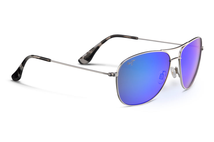 Maui Jim - Cliff House - Silver / Blue Hawaii