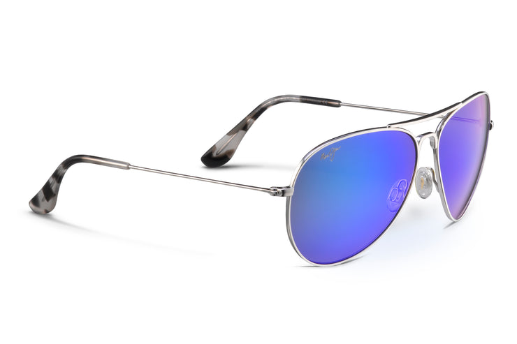 Maui Jim - Mavericks - Silver / Blue Hawaii