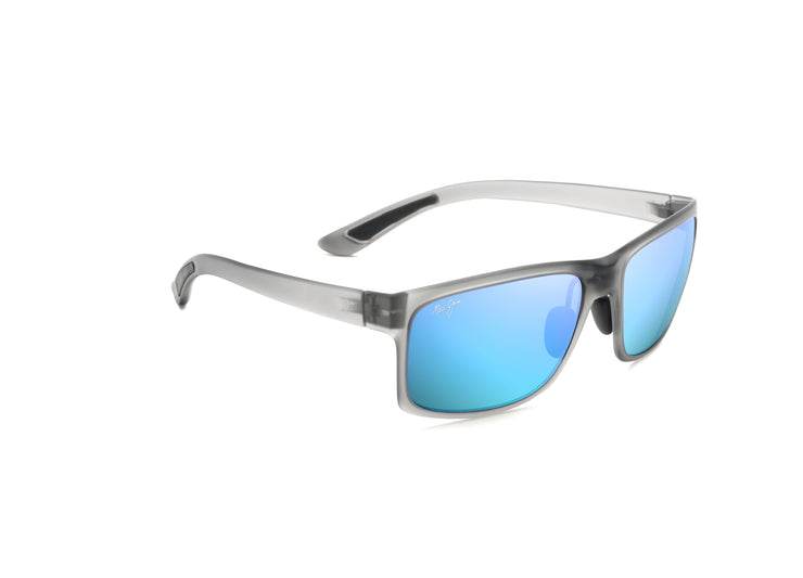 Maui Jim - Pokowai Arch - Translucent Matte Grey / Blue Hawaii
