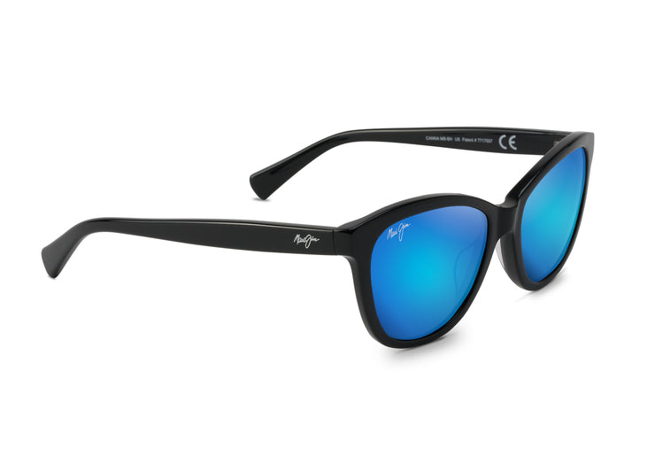 Maui Jim - Canna - Gloss Black / Blue Hawaii