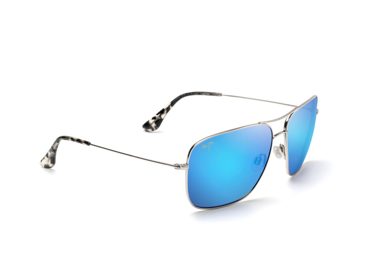 Maui Jim - Cook Pines - Silver / Blue Hawaii