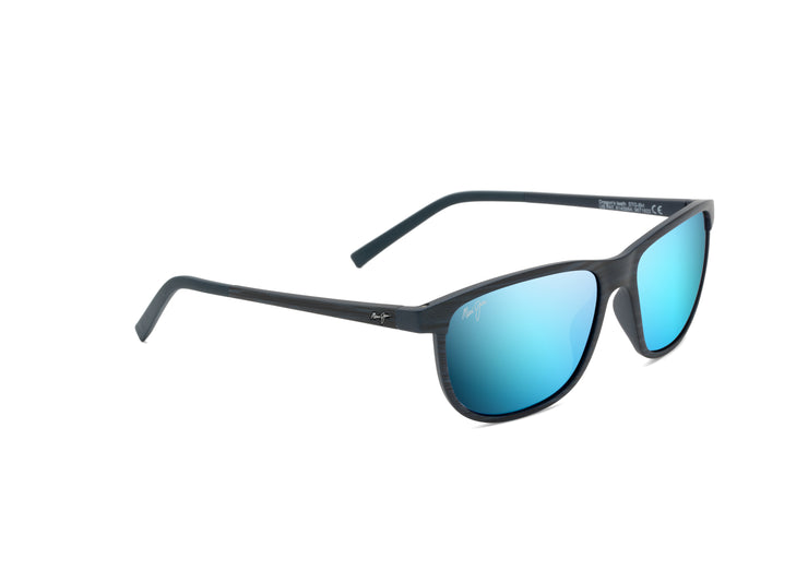 Maui Jim - Dragon's Teeth - Dark Navy Stripe / Blue Hawaii