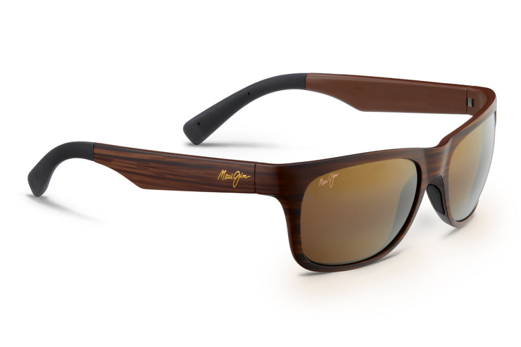 Maui Jim - Kahi - Matte Brown Wood Grain / HCL Bronze