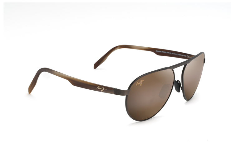 Maui Jim - Swinging Bridges - Brushed Chocolate / HCL Bronze