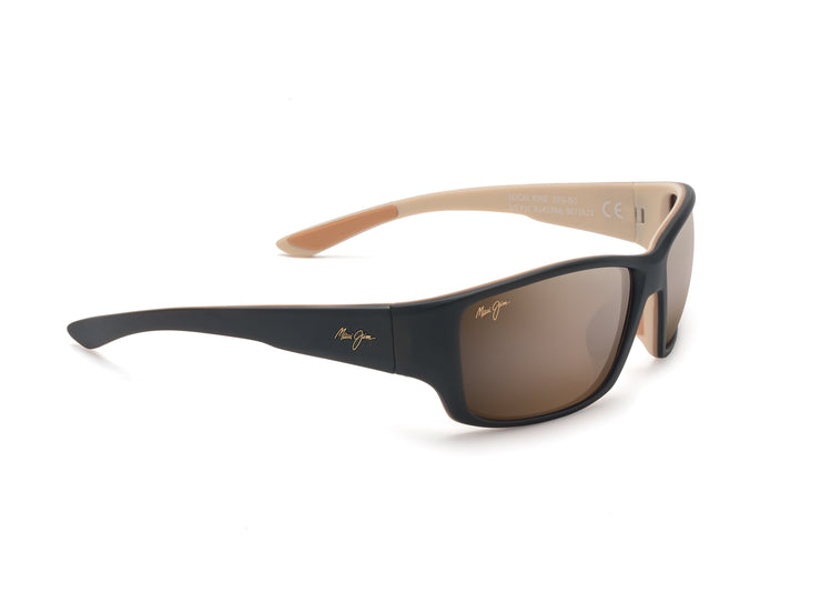 Maui Jim - Local Kine - Matte Dark Transparent Brown / HCL Bronze