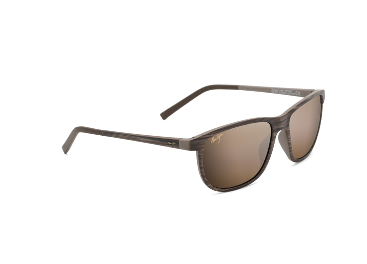 Maui Jim - Dragon's Teeth - Brown Stripe / HCL Bronze