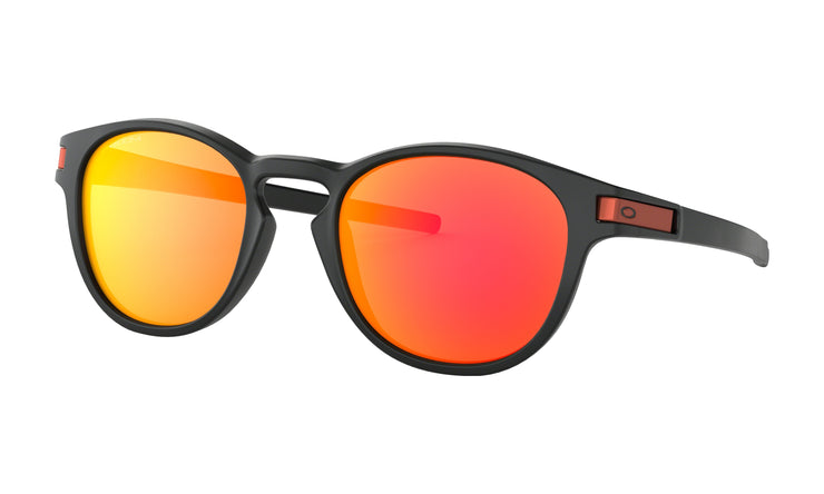 Oakley - Latch Rx - Matte Black / Red Logo