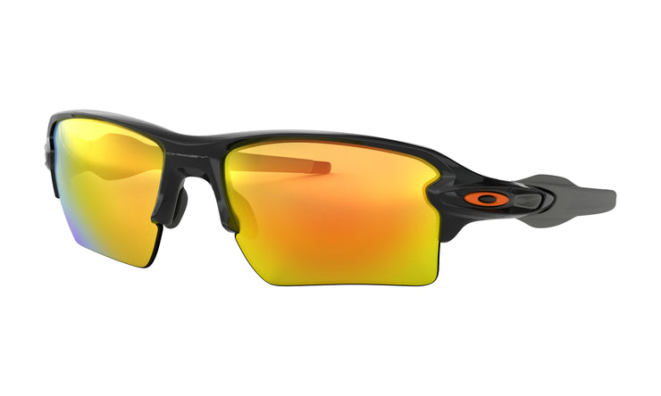 Oakley - Flak 2.0 XL - Polished Black / Orange Logo