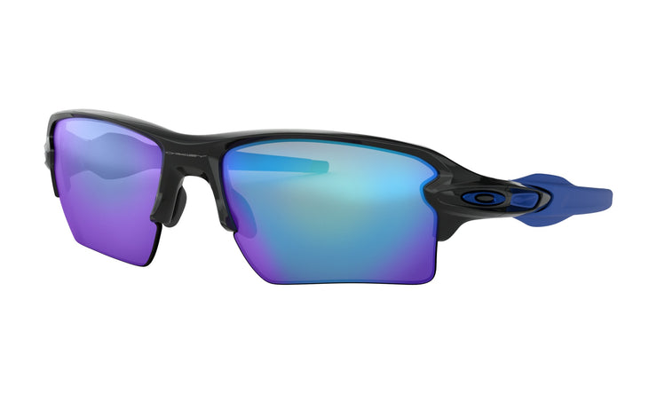 Oakley - Flak 2.0 XL - Polished Black / Blue