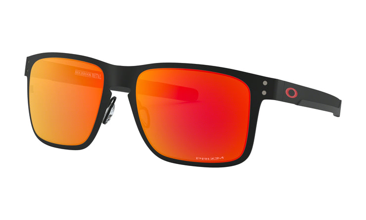 Oakley - Holbrook Metal Rx - Matte Black / Red Logo