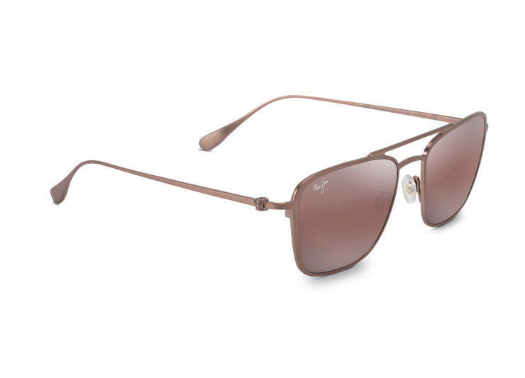 Maui Jim - Ebb & Flow - Brown Red Satin / Maui Rose
