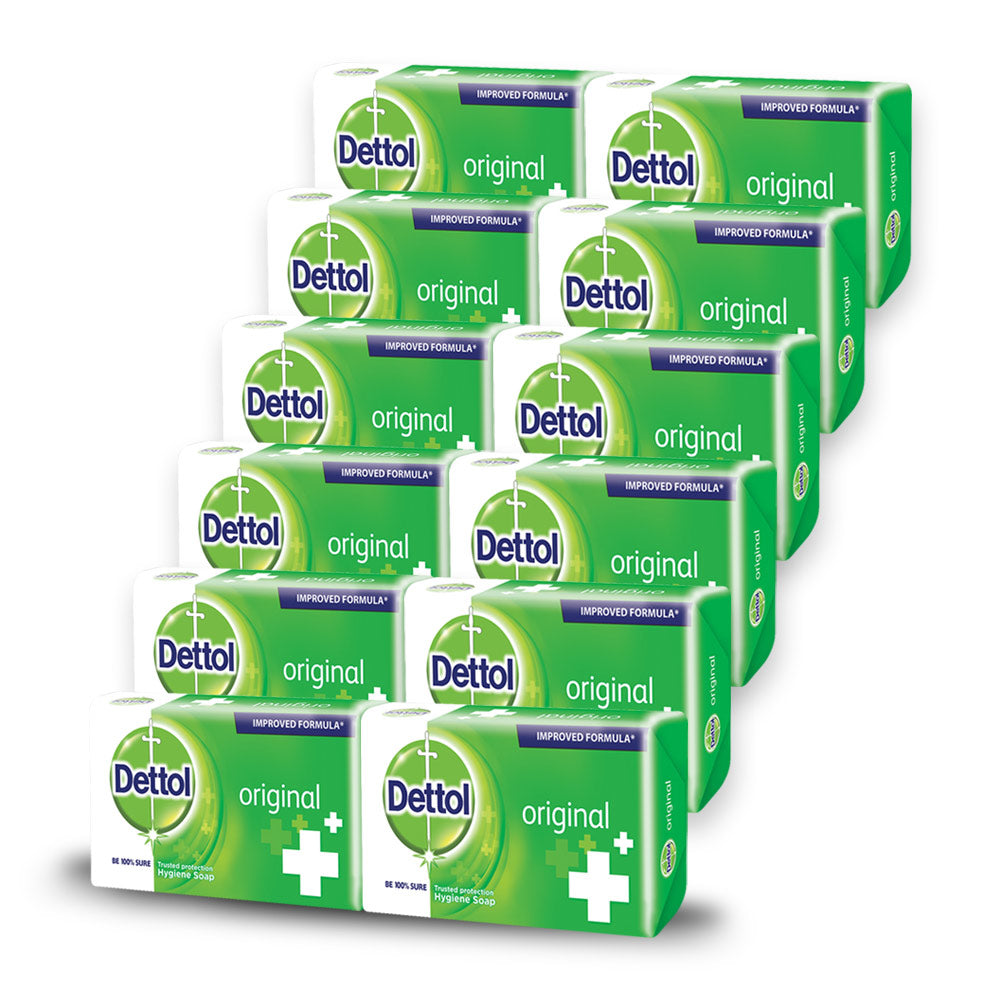 Dettol Soap Original (12 Pack)
