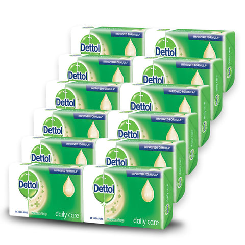 Dettol Soap Proskin Daily Care (12 Pack)