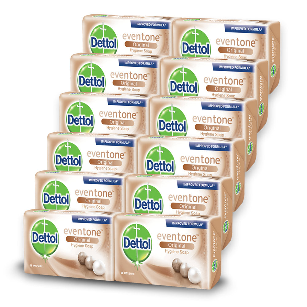Dettol Soap Evertone Original (12 Pack)