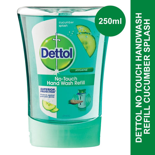 Dettol No Touch Handwash Refill Cucumber- 250 ml