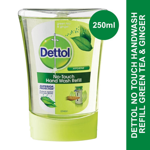 Dettol No Touch Handwash Refill Green Tea & Ginger-250ml