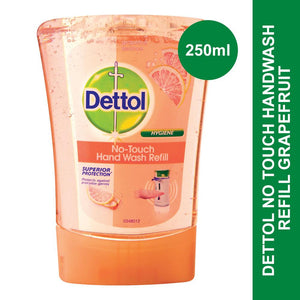 Dettol No Touch Handwash Refill Grapefruit-250ml