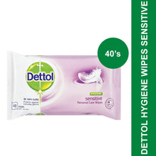 Load image into Gallery viewer, Dettol Hygiene Wipes Sensitive-40's