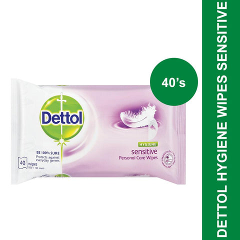 Dettol Hygiene Wipes Sensitive-40's