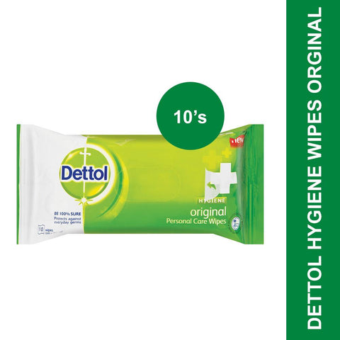 Dettol Hygiene Wipes Original-10's