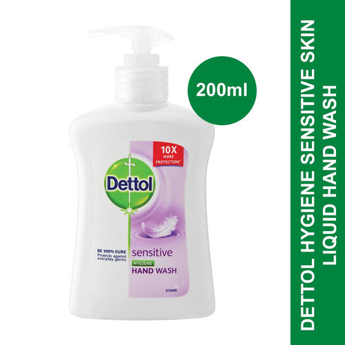 Dettol Hygiene Liquid Hand Wash Pump Sensitive Skin -200ml