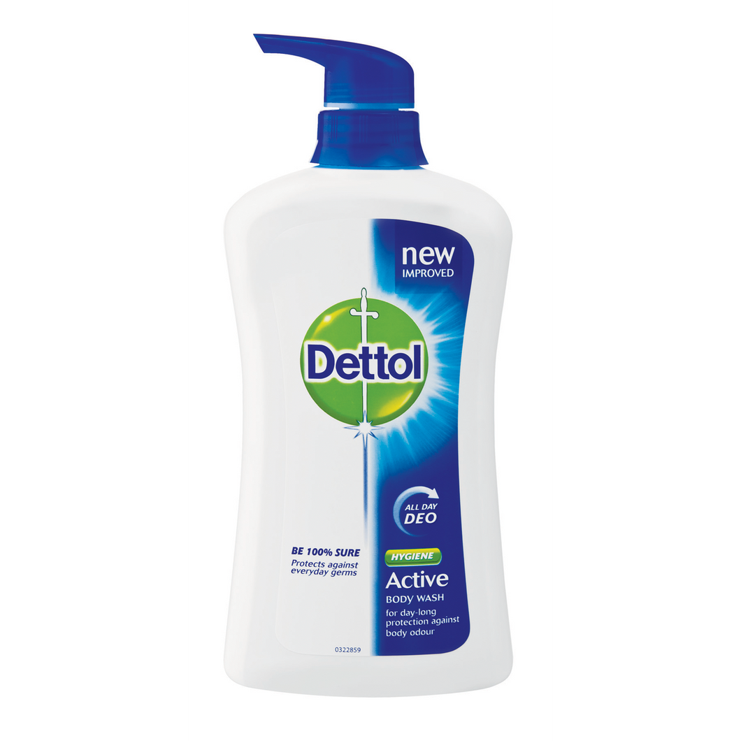 Dettol Active Hygiene Body Wash 600ML