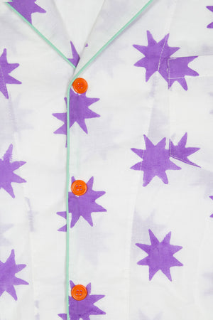 STARRY Print pyjamas - CV-19 collection - Thelmaandleah