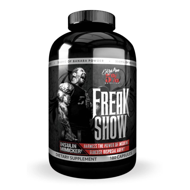 Rich Piana 5% Nutrition Freak Show
