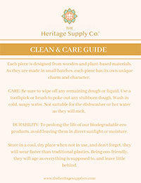 THSC | Clean & Care Guide