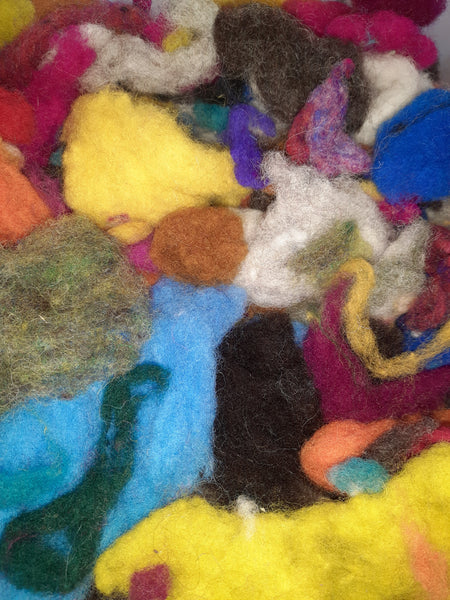 Irish carded wool