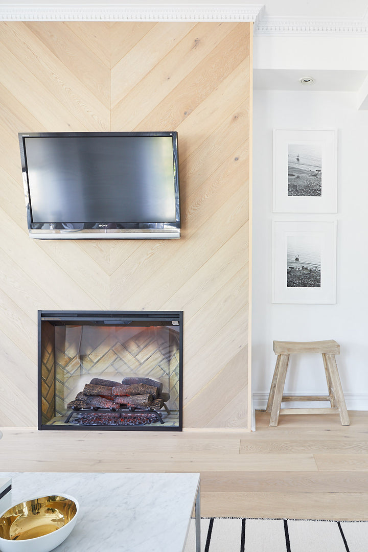 Outside of the Box - Four Takes on Electric Fireplaces >