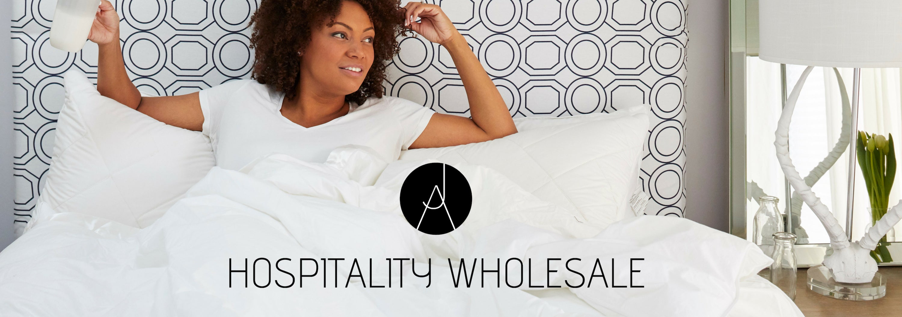 JA HOSPITALITY WHOLESALE, WOMEN IN BED