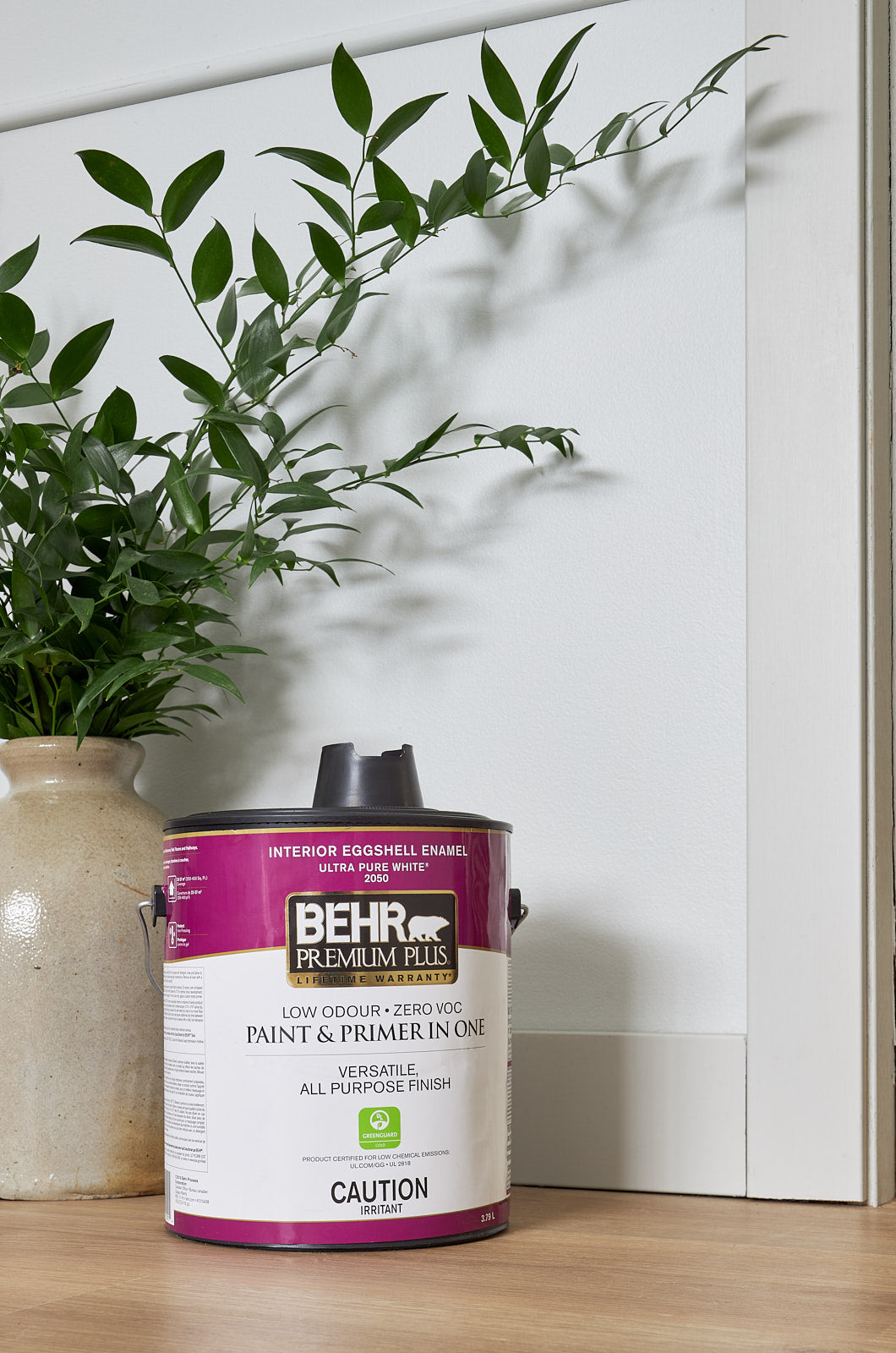 behr paint, seagull grey