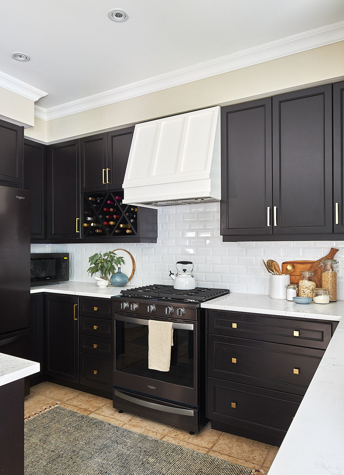 black stainless appliances whirlpool