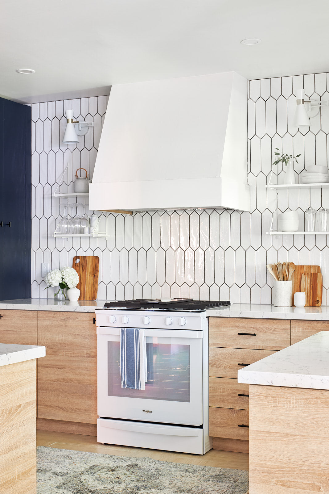 Tiled backsplash, jo alcorn