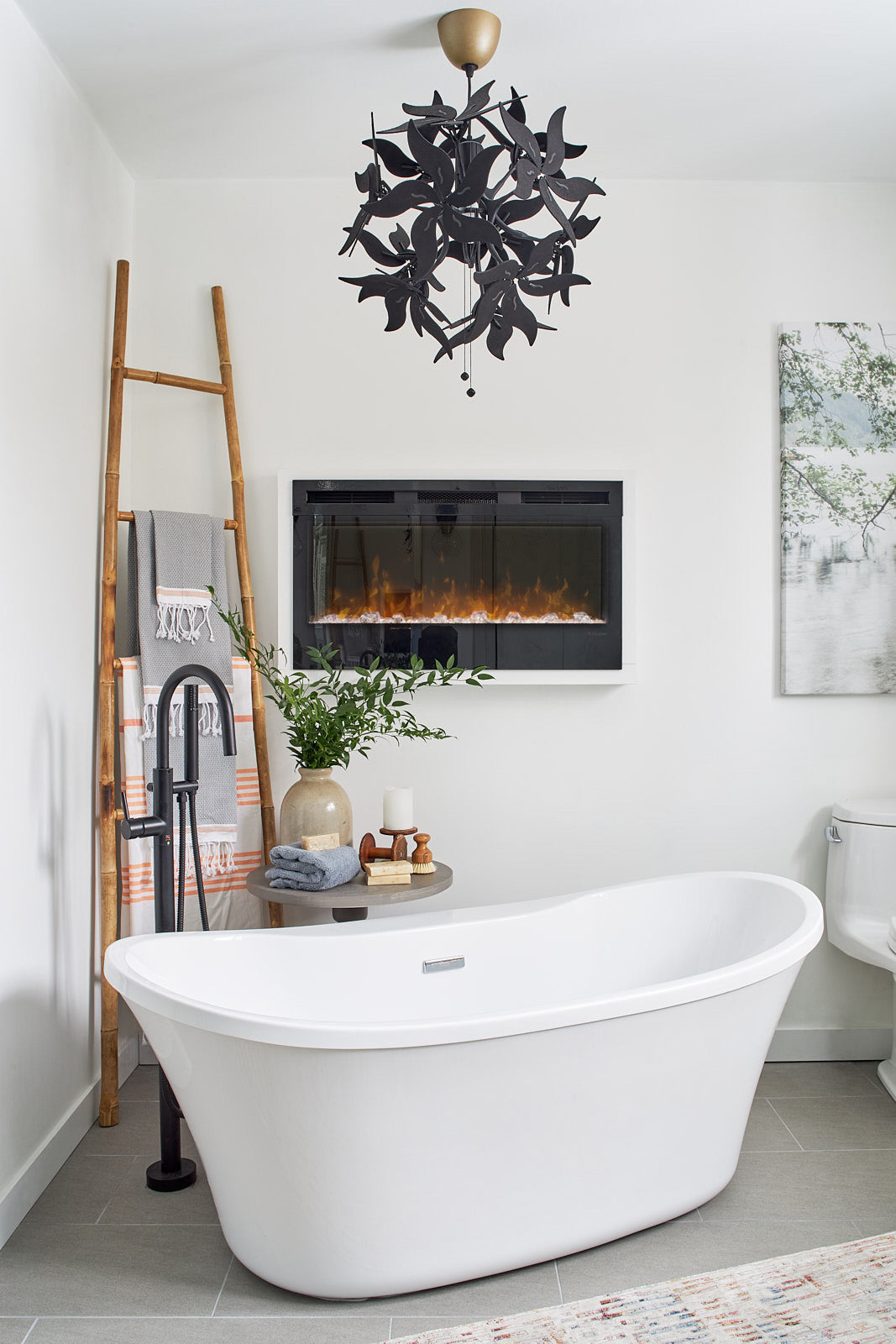 corner bathtub, jo alcorn designs